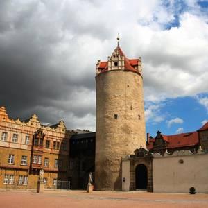 Eulenspiegelturm des Schlosses Bernburg (Romanischer Bergfried)