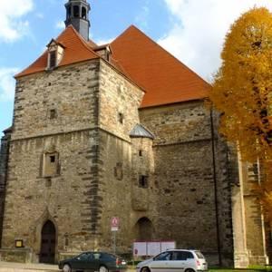 Schlosskirche St. Marien und St. Cyprian (ehemalige Klosterkirche), Nienburg